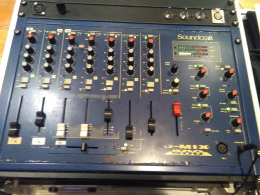 soundcraft dj 500 mezclador