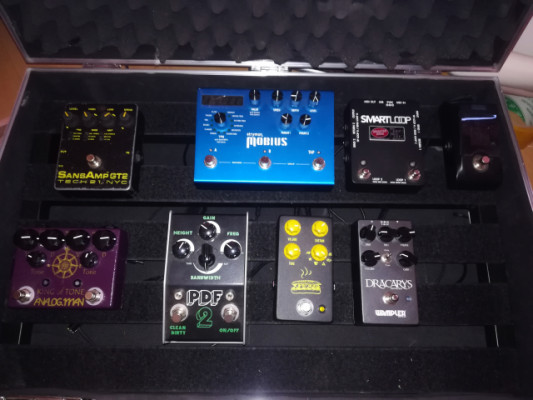 "Analogman King of Tone, Strymon , Stone Deaf, JHS, GT"", Wampler"