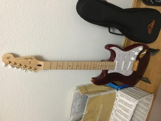Stratocaster Richie Kotzen RED LIMITED EDITION