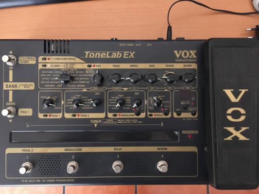 Pedalera Vox Tonelab EX