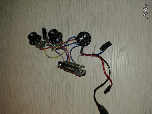 Wiring para Fender/Squier Startocaster