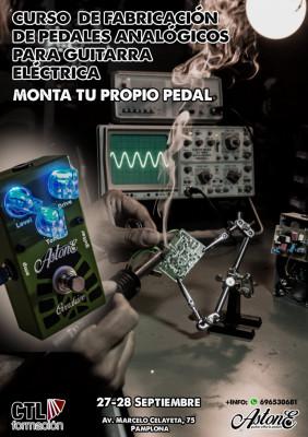 CURSO/TALLER Montar tu propio pedal de efectos en Pamplona