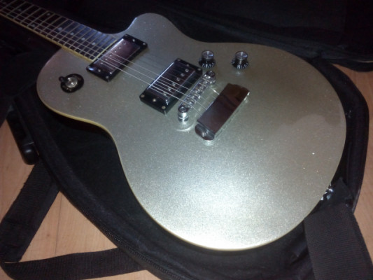 HAGSTROM D2H DELUXE SILVER SPARKLE