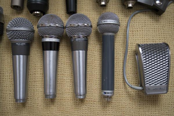 Vendo toda mi colección de micrófonos Vintage