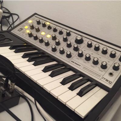 Moog subphatty & arturia beat step pro