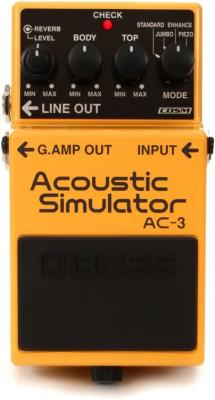 o cambio Boss AC3 Acoustic Simulator