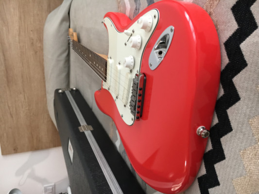Fender Stratocaster USA Plus Fiesta Red 1999