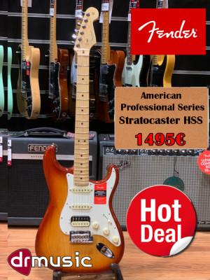 Fender American Professional Stratocaster HSS Sienna Sunburst  -LIQUIDACIÓN-