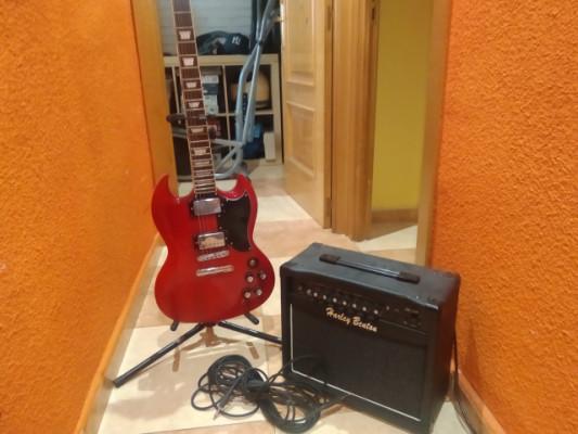 Guitarra Harley bento