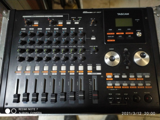 Grabador digital portastudio DP-02CFVENDO