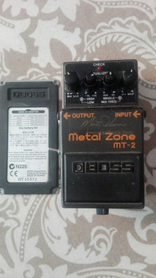 Metal Zone Monte Allums MT-2 Sustainia Mod (Envío incluido)