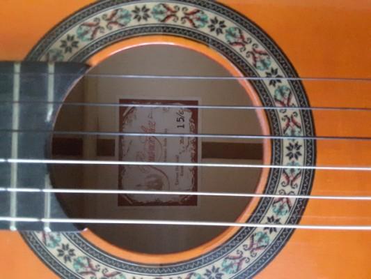 Guitarra flamenca electrificada Prudencio Saez Mod.15/E