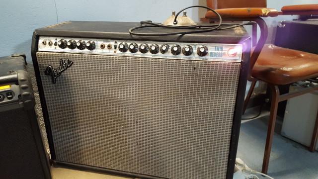 Fender Twin Reverb de los 70.
