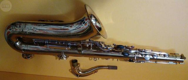 Saxofón Tenor Buescher por platos Dj Technics
