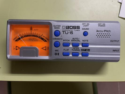 Boss TU-15. Chromatic tuner