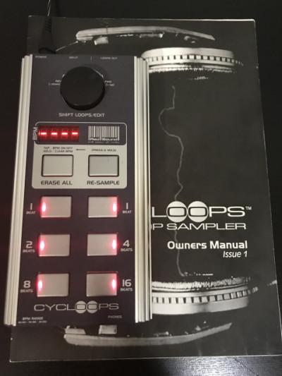 Sampler red sound soundbite cycloops DJ