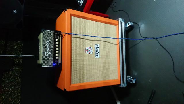 Pantalla Orange ppc412 + flightcase (vendo o cambio)