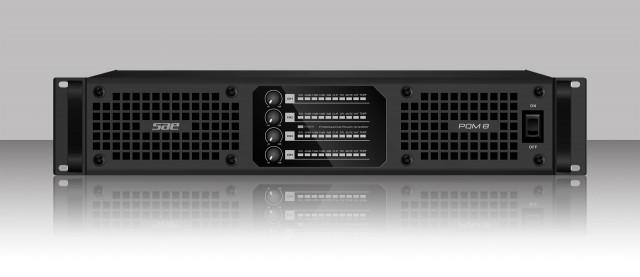 Amplificador digital de 4 canales Sae Audio PQM
