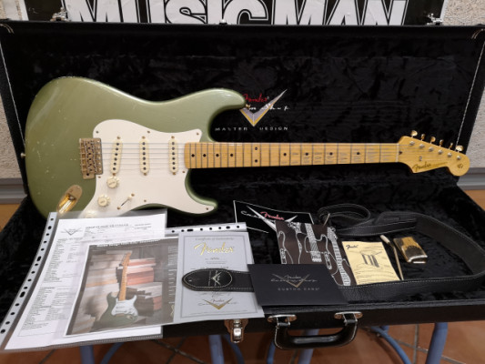O venta Fender Custom Shop Todd Krause Master Design 1950's Relic Stratocaster
