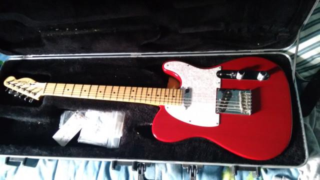 Vendo/Cambio Fender Telecaster American Standard (x stratocaster)