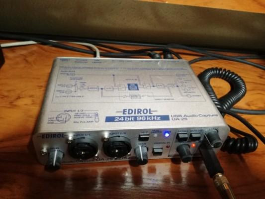 Interface Edirol UA-25 (Roland)
