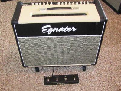Amplificador guitarra  Egnater renegade 212 . Video.