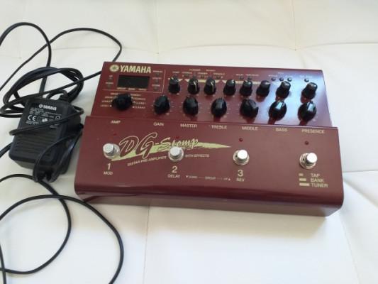 Previo Multiefectos Yamaha Dg Stomp