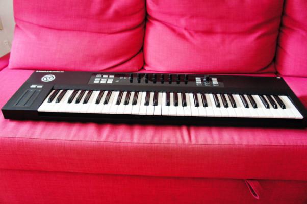 teclado controlador Native Instruments Kontrol S61