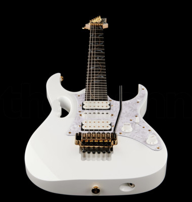 Ibanez JEM7V-WH Signature Steve Vai, made in Japan.