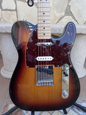 Fender Telecaster Nashville Deluxe + Pod HD 300, por Hélix lt, monitor autoamplificado frfr, overdrive, wah, chorus, del