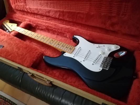 Fender Stratocaster American Vintage 57 - Black - 1987