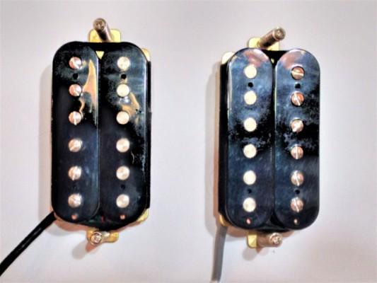 Pastillas Humbucker Fender Blacktop Alnico