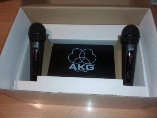 Micrófonos inalámbricos AKG
