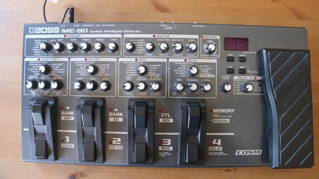 Pedalera Boss ME-80
