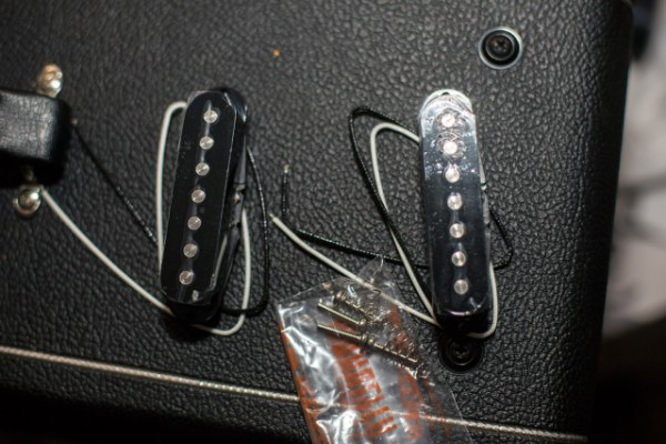Pastillas single coil 7 cuerdas Kent Armstrong 701