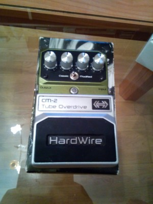 Hardwire tube overdrive