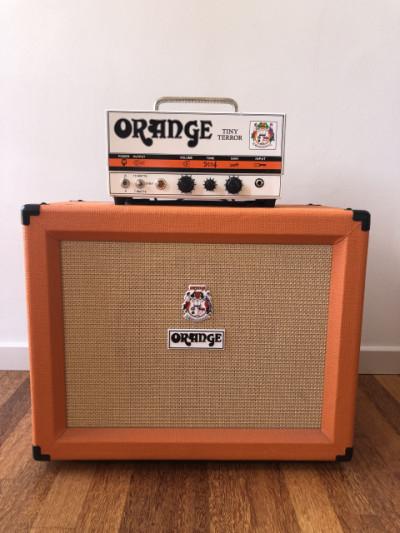 Orange Tiny Terror con pantalla Orange 1x12