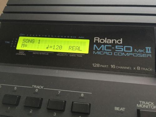 Roland MC50 Mk2 micro composer