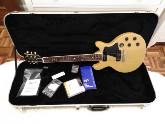 Gibson Les Paul Special DC TV yellow RESERVADA