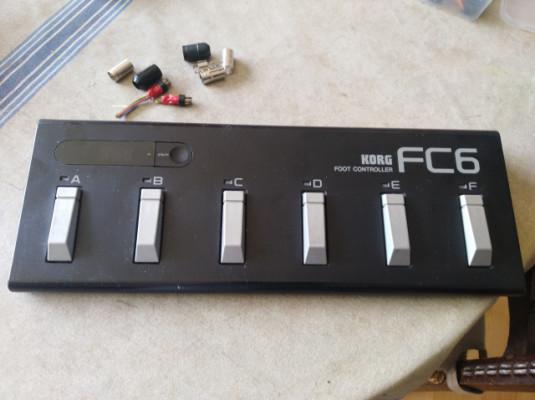 Pedalera MIDI Korg fc6