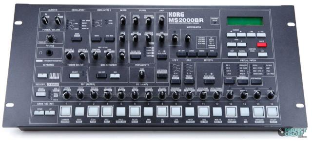 Korg MS 2000 BR - Version rack en negro
