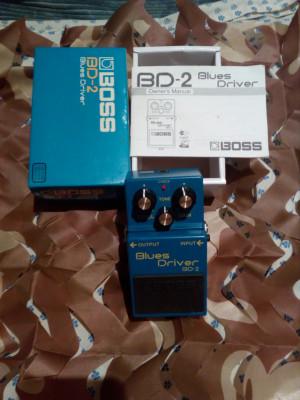 Boss Blues Driver BD-2 nuevo.