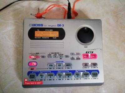 Boss dr-3 caja de ritmos