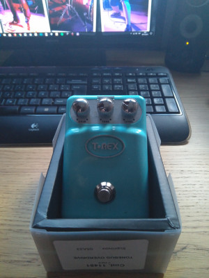 pedal overdrive t rex
