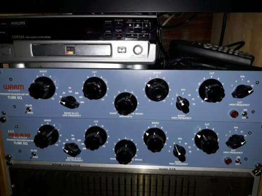 Pareja de EQ Warm audio Pultec EQ-PWA