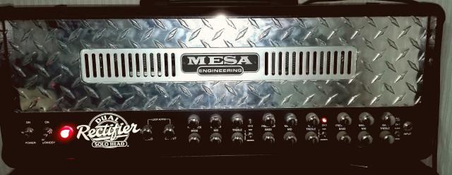 Amplificador Mesa boggie dual rectifier 100w.