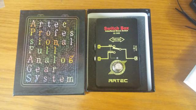 Pedal conmutador Artec Switch Box.
