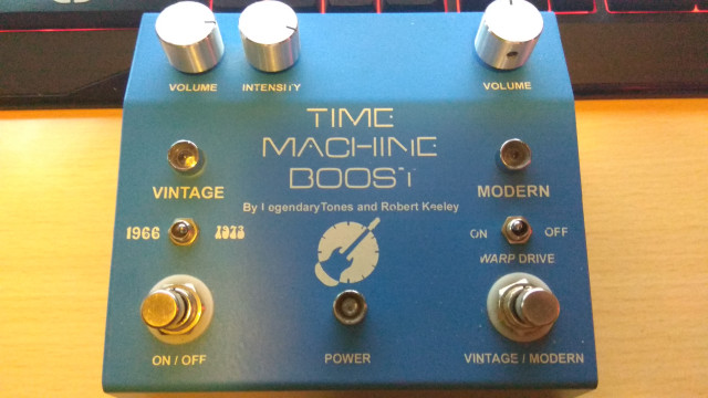 Booster Keeley Time Machine