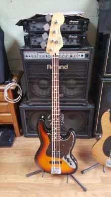 Jazz Bass MIM 70's (2003), mejorado