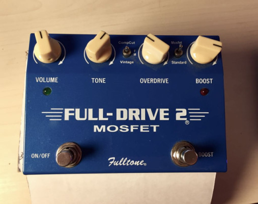 FULL-DRIVE 2 MOSFET FULLTONE- SOLO VENTA